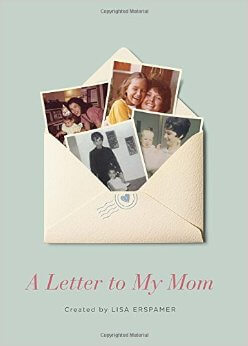 A Letter To My Mom Book