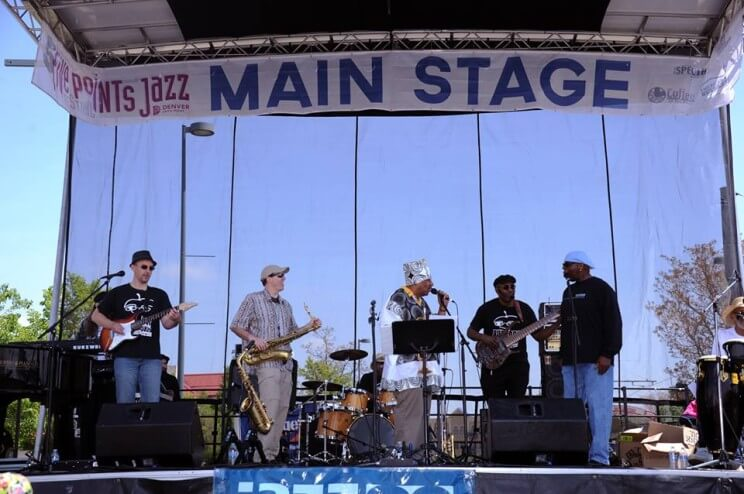 Five Points Jazz Festival Main Stage