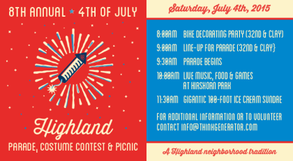 8th Annual 4th of July Parade & Celebration
