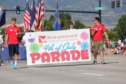 4th of July Parade Highlands Ranch