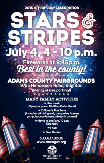 Stars & Stripes 4th of July Adams County