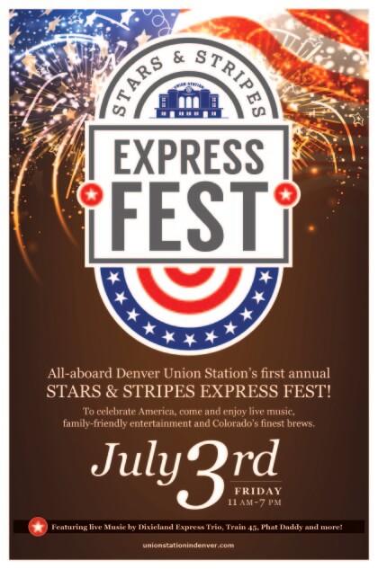Stars & Stripes Express Fest 2015