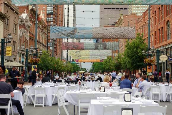 Dining Al Fresco On Larimer Square | The Denver Ear