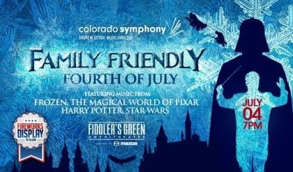 Colorado Symphony's Family Friendly Fourth of July