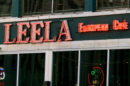 Leela's European Cafe
