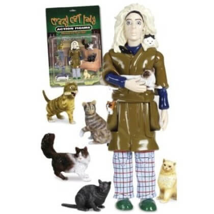 Crazy Cat Lady Action Figure $21.92