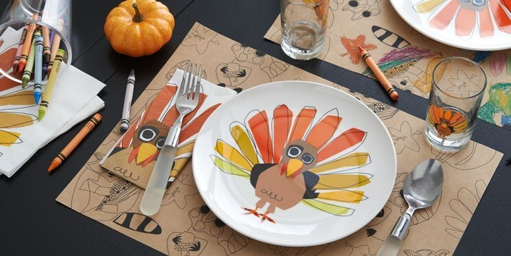 Crate & Barrel Thanksgiving