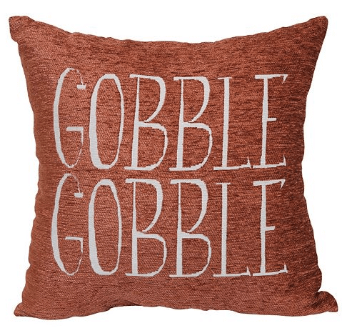Harvest 'Gobble-Gobble' Pillow $17.49
