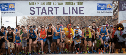 42nd Annual Mile High United Way Turkey Trot