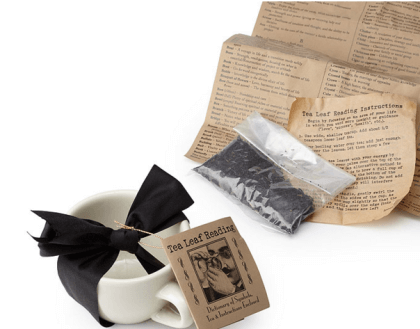 Tea Leaf Reading Kit $23