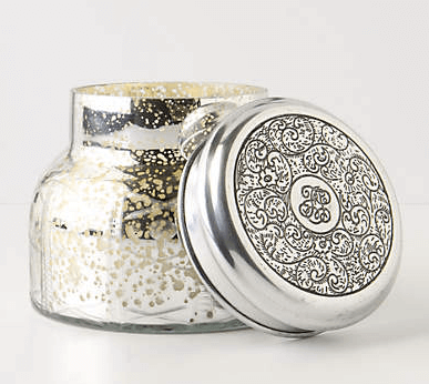 Anthropologie Capri Mercury Glass Candle $28