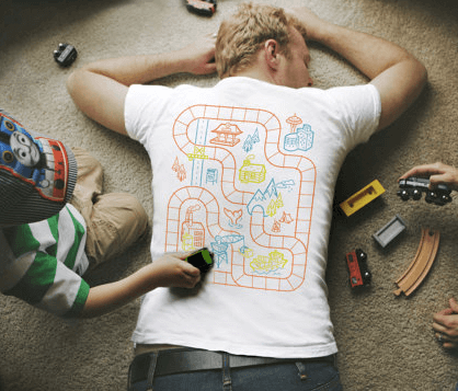 Train Play Massage T-Shirt $22