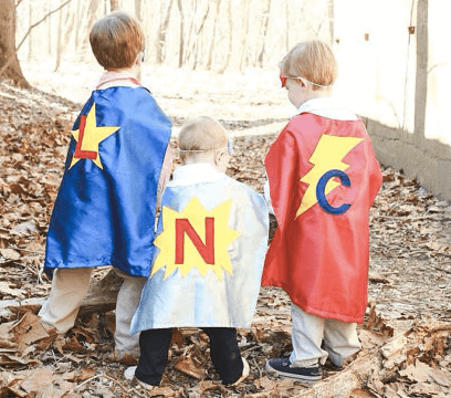 Personalized Super Hero Cape $12
