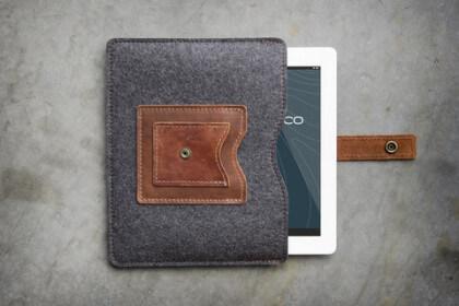 Spruce Rustico Cache iPad Sleeve $72.75
