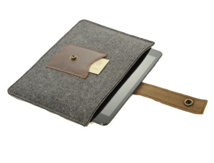 Spruce Rustico Cache Mini iPad Sleeve $59.50