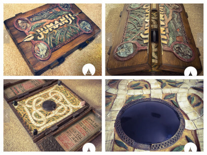 Replica 1:1 Scale Jumanji Game Board $308.88