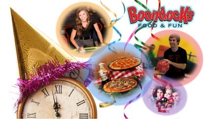 NYE at Boondocks Food & Fun