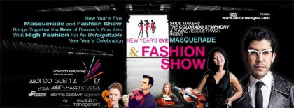 New Year's Eve Masquerade and Fashion Show - Open Bar