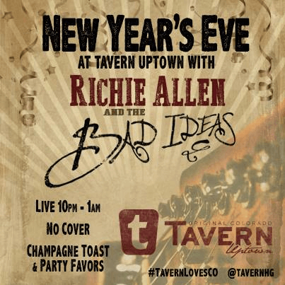New Year's Eve with Richie Allen & The Bad Ideas