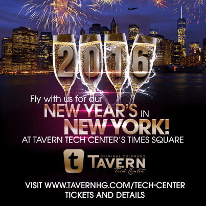 Tavern Tech Center's New Year's in New York