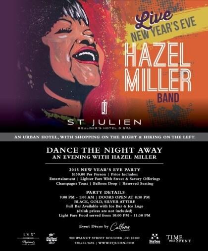 Dance the Night Away: An Evening with Hazel Miller