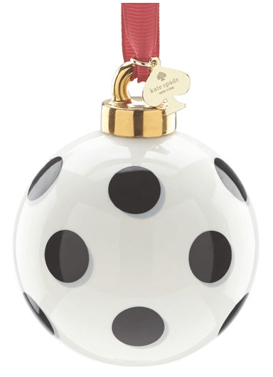 Kate Spade New York Spot Globe Ornament $30