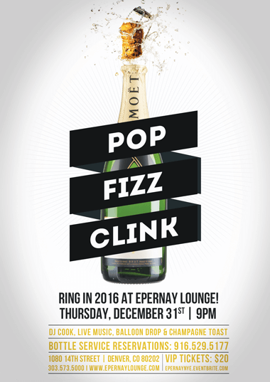 POP FIZZ CLINK! RING IN THE NEW YEAR AT EPERNAY LOUNGE