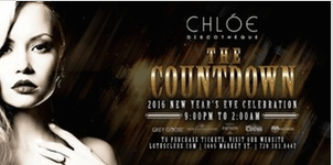 THE COUNTDOWN | NYE 2016 | Chloe Discotheque