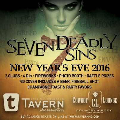 Seven Deadly Sins - New Year's Eve 2016
