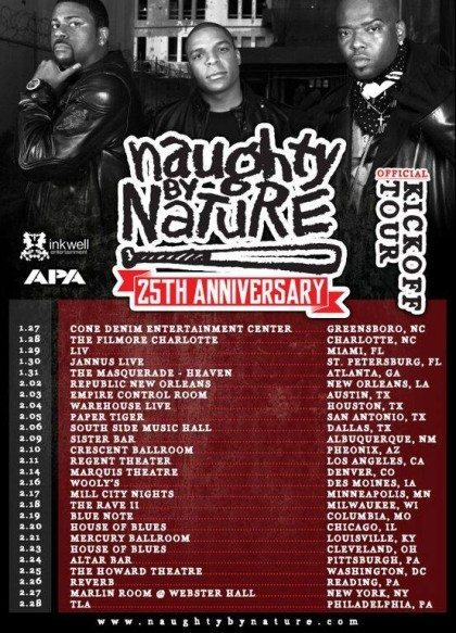 FLO 107.1's My Naughty Valentine Party with Naughty By Nature | The Denver Ear