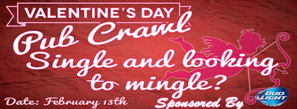 Singles Valentine's Day Pub Crawl 2016 | The Denver Ear