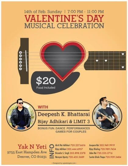 Valentine's Day Musical Celebration 2016 | The Denver Ear