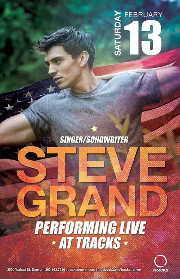 Steve Grand at TRACKS | The Denver Ear