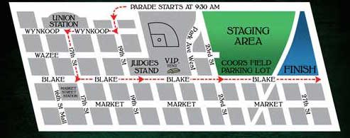 Denver St. Patrick's Day Parade 2016 Map | The Denver Ear