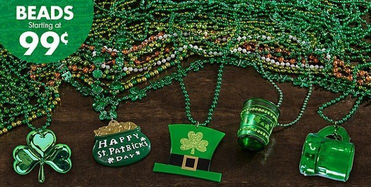 St. Patrick's Day Beads | Party City | The Denver Ear
