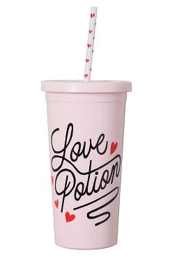 Love Potion Tumbler with Straw | The Denver Ear