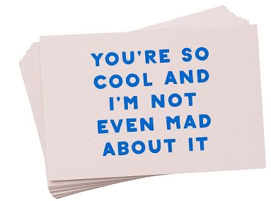 You Are So Cool Compliment Cards | The Denver Ear