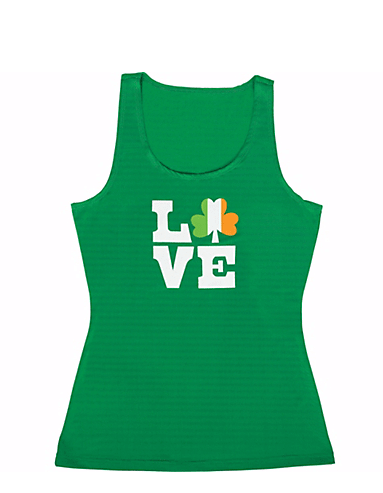 """Love"" Shamrock Tank Top 
