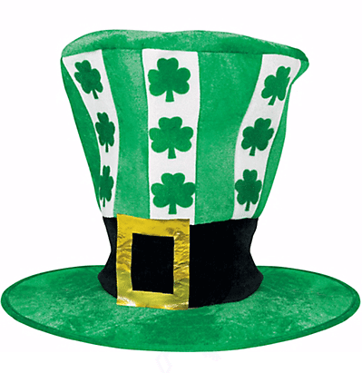 Oversized St. Patrick's Day Hat | Party City | The Denver Ear