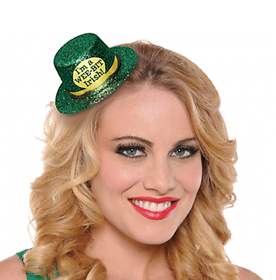 """Wee Bit Irish"" Mini Top Hat 