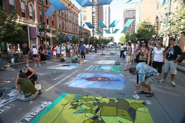 Denver Chalk Art Festival | The Denver Ear