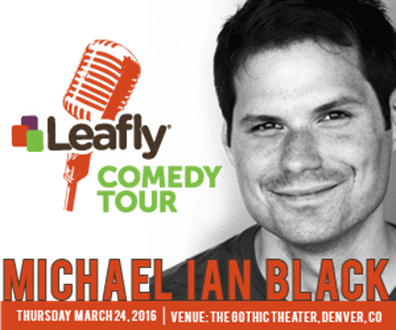 Leafly Comedy Tour Feat. Michael Ian Black | The Denver Ear