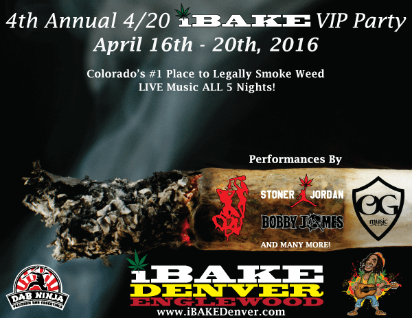 4/20 iBake VIP Party 2016 | The Denver Ear
