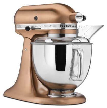 KitchenAid Satin Copper Mixer | The Denver Ear