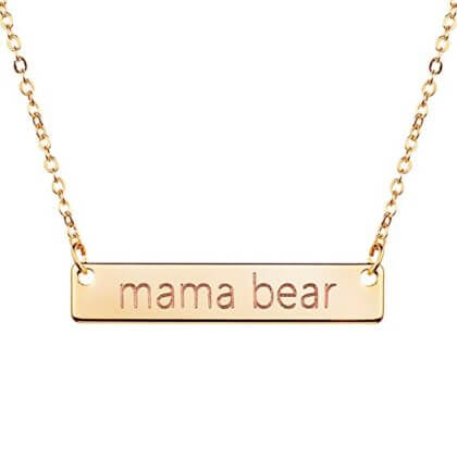 Mama Bear Necklace | The Denver Ear
