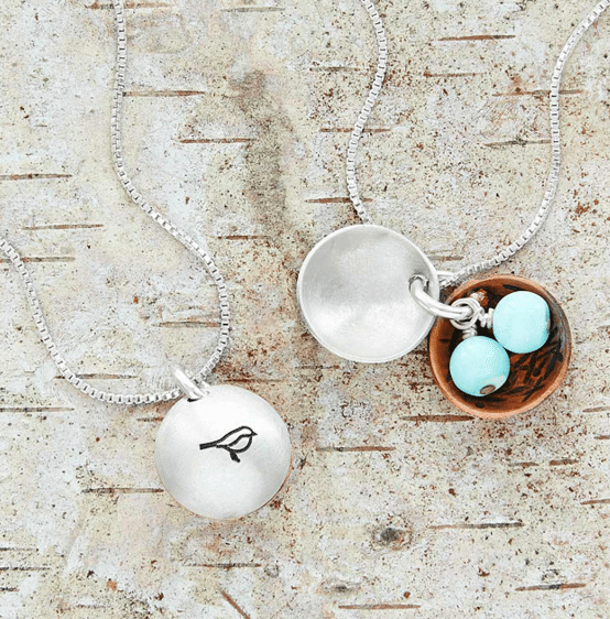 Nest Egg Necklace | The Denver Ear