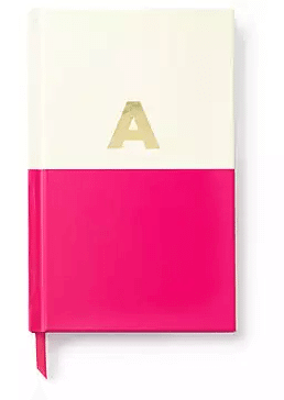 Kate Spade Initial Notebook | The Denver Ear