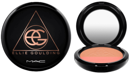 MAC Ellie Goulding Powder Blush | The Denver Ear