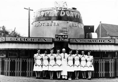 Humpty Dumpty Barrel restaurant, Colorado's First Drive-In | The Denver Ear