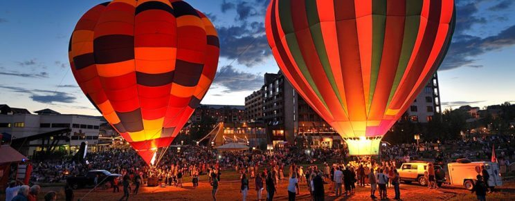 Hot Air Balloon Rodeo and Art in the Park | The Denver Ear